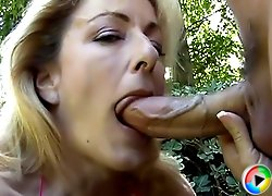 Hard cock in mature