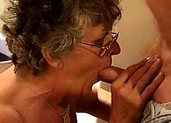 Grandma and her lover exchange oral favors