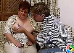 Fat 60+ y.o. granny fucked hard by a swarthy guy